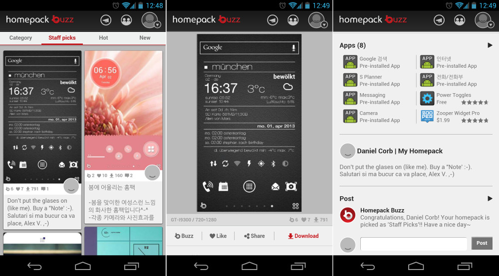 Video: Buzz Launcher Brings the Best Custom Android Home Screens to