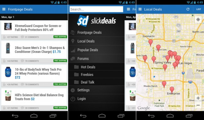 slickdeals android
