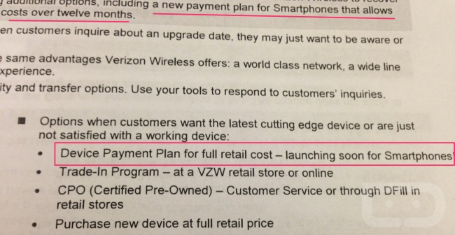 verizon payment plan