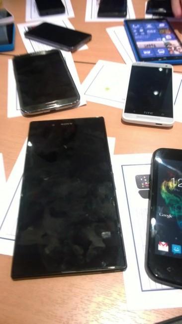 HTC m4 Sony