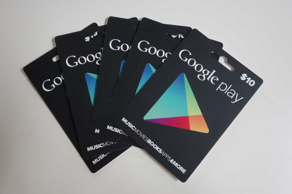 Contest Win 1 Of 5 Google Play 10 Gift Cards Updated Winners