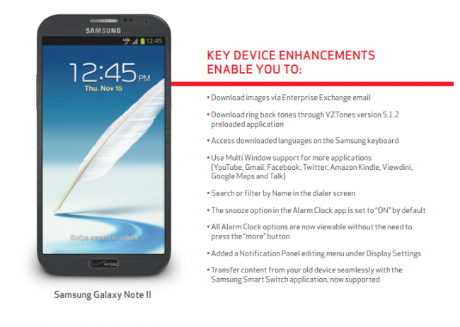 Galaxy Note 2 Update PDF
