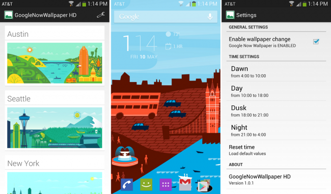 Google Now Wallpapers