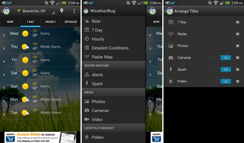 WeatherBug Receives Major UI Update, Fancy Live Tiles and ...