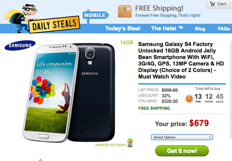 where to find downloads on samsung galaxy s4