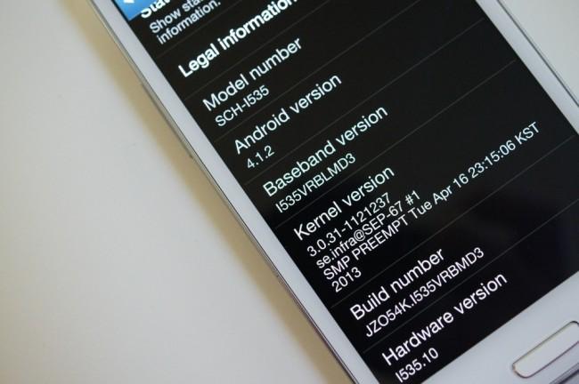 Galaxy S3 VRBLMD3