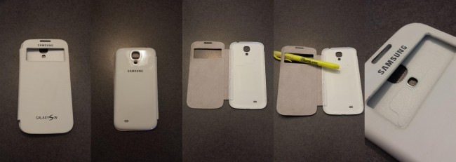 FAKE GALAXY S4 S-VIEW COVER