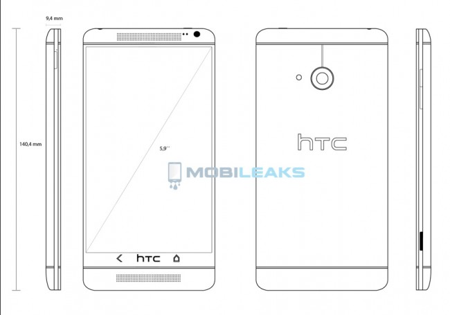 HTC T6 One Max
