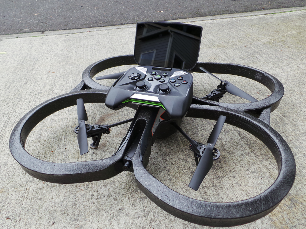 Video: Flying a Parrot AR Drone 2.0 With NVIDIA SHIELD