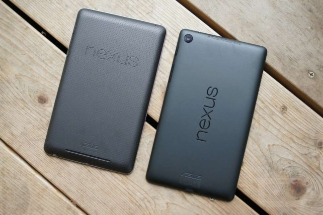 new nexus 7 old nexus 7