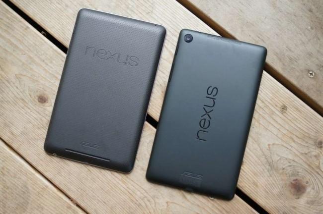 new nexus 7 old nexus 7