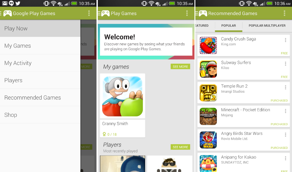 Google Play Games App Now Live on Google Play Store ...
