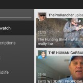 SHIELD YouTube UI