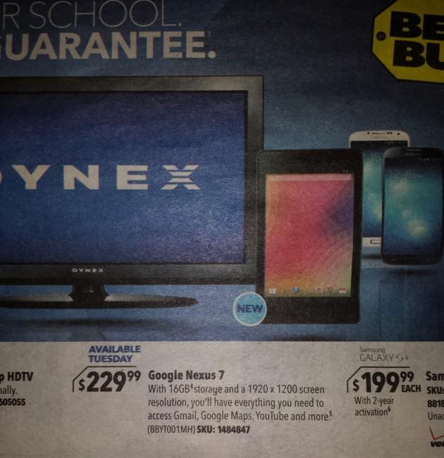 best buy nexus7