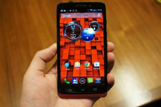 DROID ULTRA RED