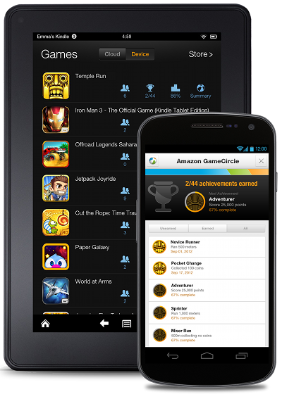 Amazon's GameCircle Not Just for the Kindle Anymore, Comes to All