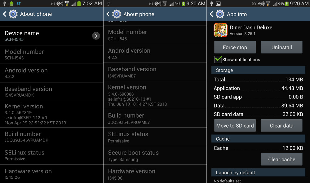 New Software Update VRUAME7 Available for Verizon's Galaxy