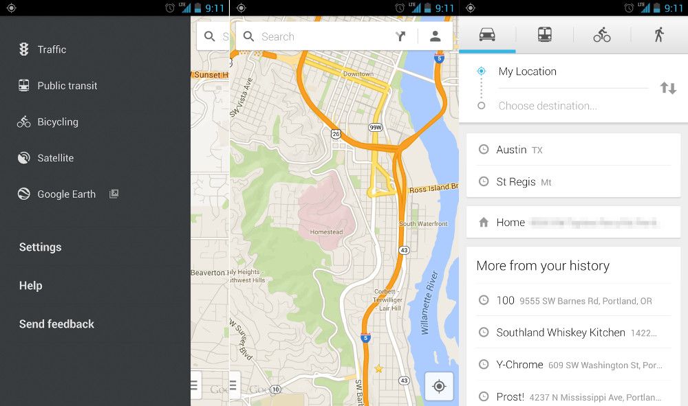 New Google Maps 7.0.0 Goes Live in Google Play - New UI We ... on google seo, google web tools, google tips, google powerpoint, google web designer, google web pages, google web analytics, google media, google enterprise, google web browser, google excel, google sites website, gmail apps, google portfolio, google applications, windows mobile apps, google events, google iphone, google gaming,