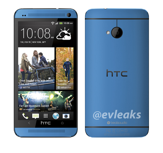 Blue HTC One