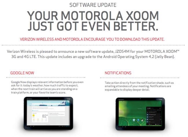 XOOM 4.2 Update