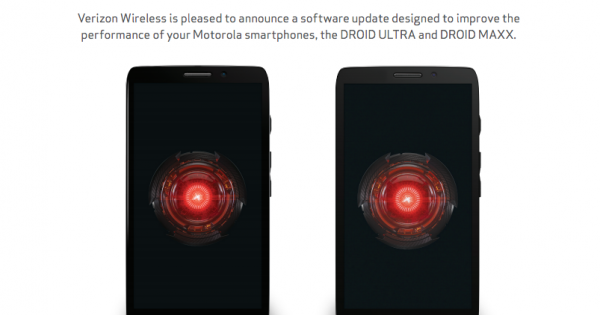 DROID MAXX and ULTRA Receiving Update to 12.7.7 on First ...