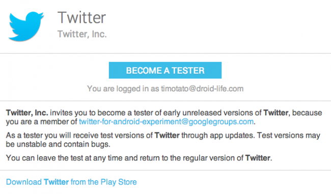 Twitter Opens Android Beta Program, Test the Latest Tweeting ...
