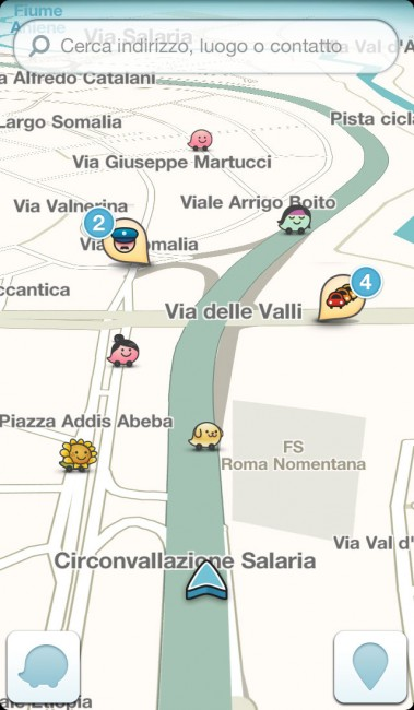 Waze-Search-box-on-Map