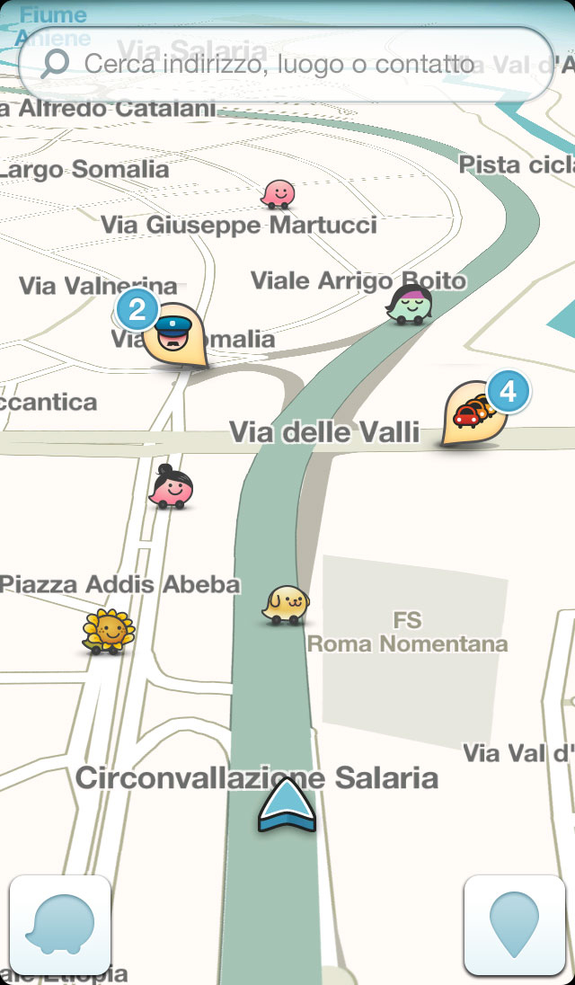 Waze Updated in Google Play, Sets Google as Primary Search