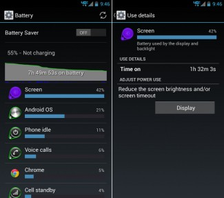 droid ultra battery life