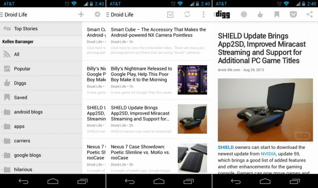 digg android