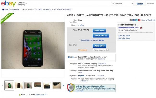 ebay motox