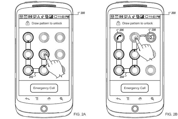 Google Unlock Patent