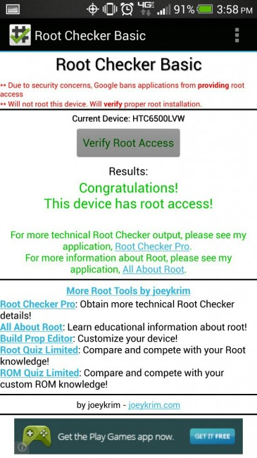 htc one root