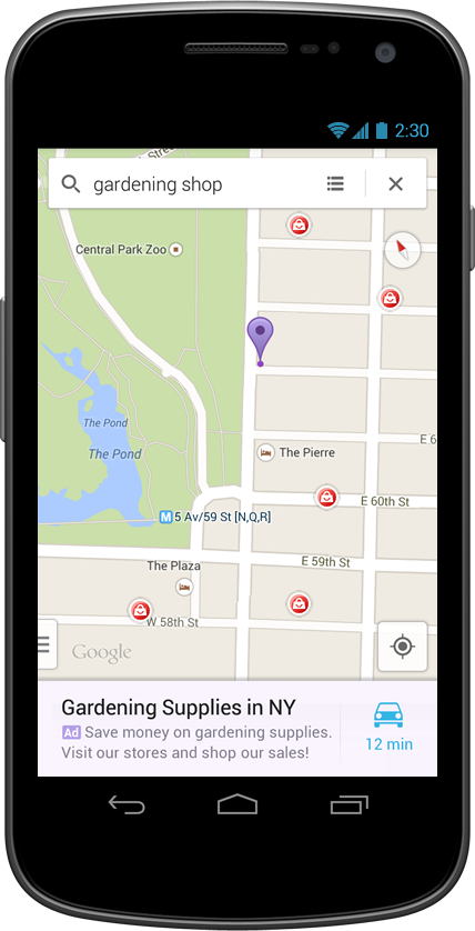 Google Brings Local Ads To New Google Maps App For Android
