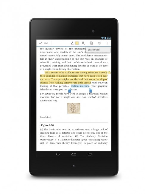 Textbooks Arrive on Google Play, Books App Updated With New
