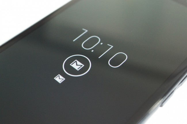 droid ultra active display