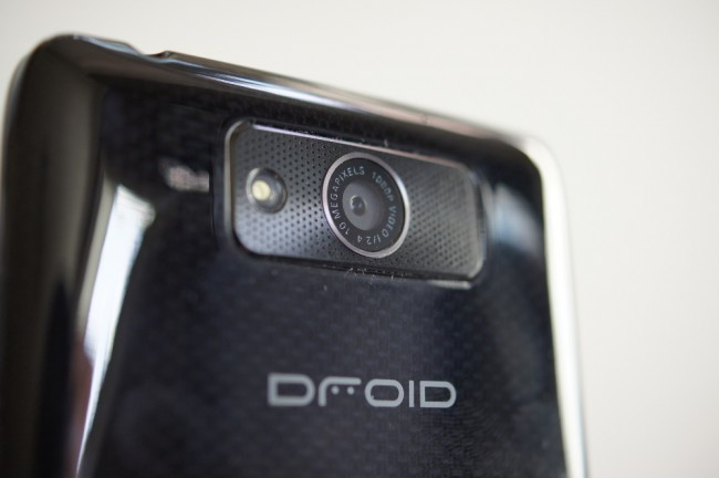 droid ultra camera
