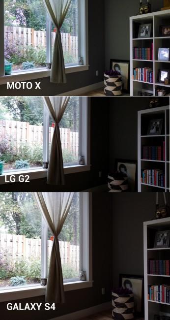 moto x camera vs lg g2 galaxy s4