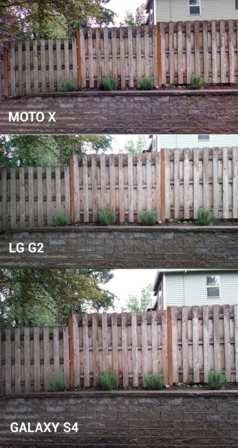 moto x camera vs lg g2 galaxy s4