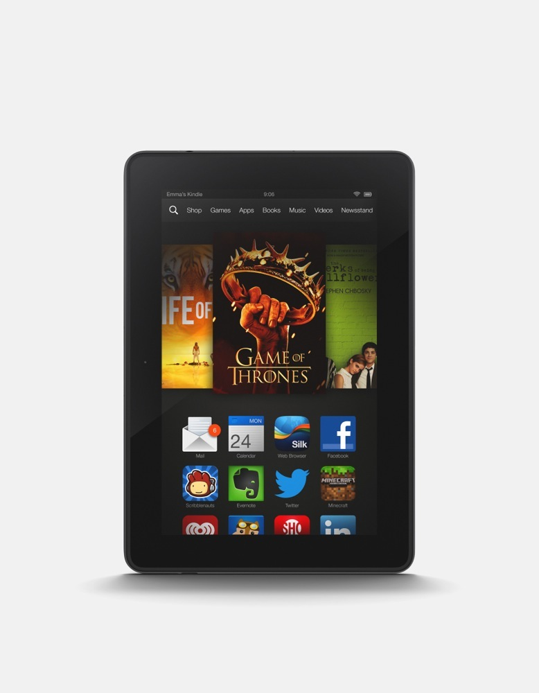 Amazon Announces Kindle Fire Hdx 7 Inch And 8 9 Inch