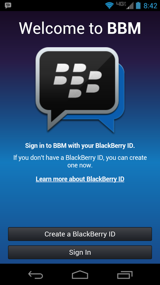 BlackBerry Messenger Leaked for Android – You Can Log In