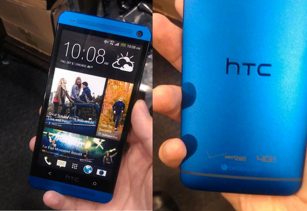 Blue HTC One is Headed to Verizon, We Have Pics – Droid Life