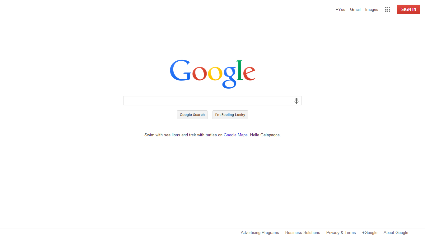 New flattened minimal google homepage is rolling out droid life - Google home page design ...