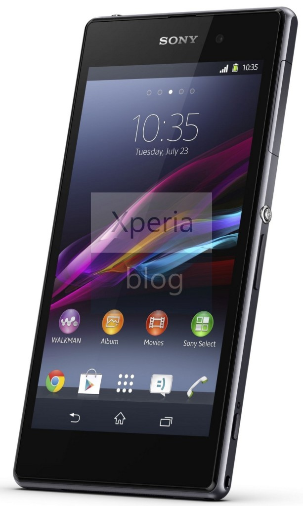Sony Xperia Z1 Press Release Leaked – Shows Off 20MP ...