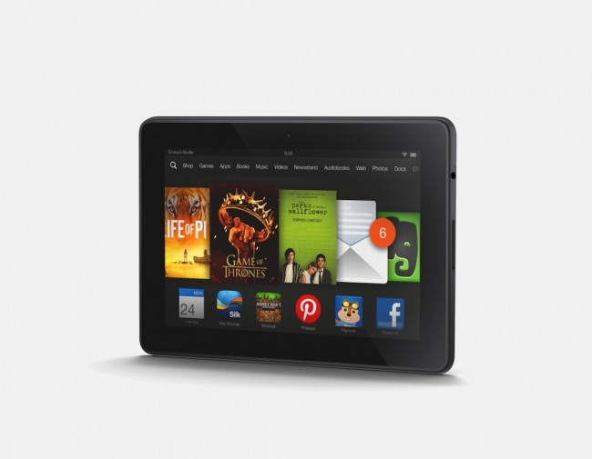 Kindle Fire HDX 7 Ships Today for $229