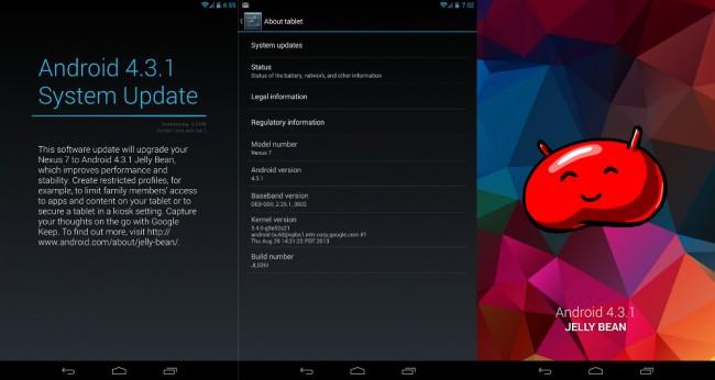 android 431 nexus 7