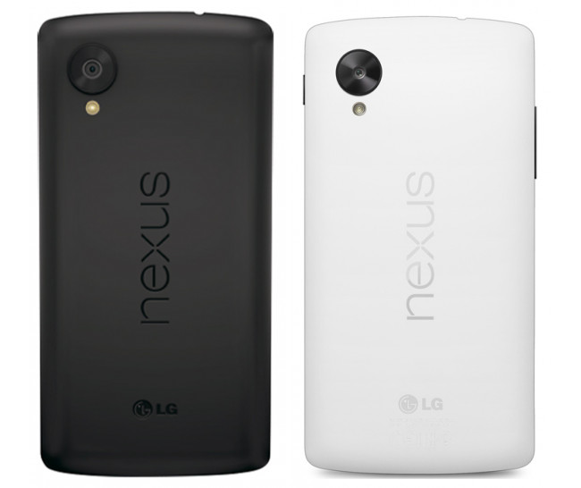 nexus 5 white black