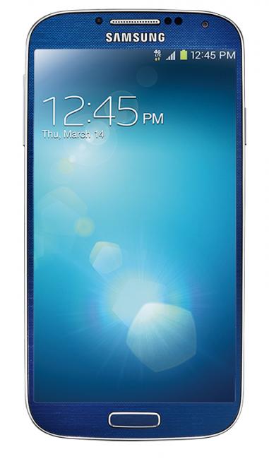 Blue Arctic Galaxy S4