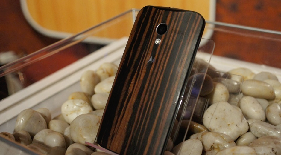 Moto X Wood back