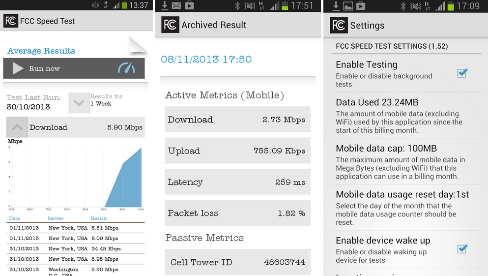 Fcc Releases Sd Test App For Android Wants To Generate A Map Of Mobile Broadband Performance Droid Life
